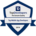 TopDevelopers.co Badge