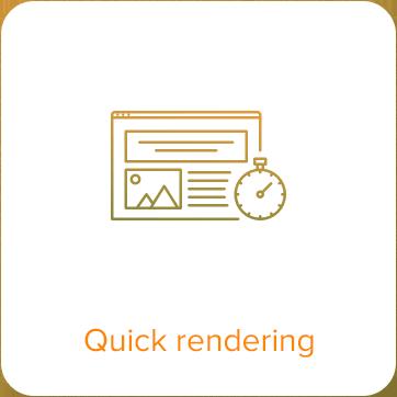 quick rendering